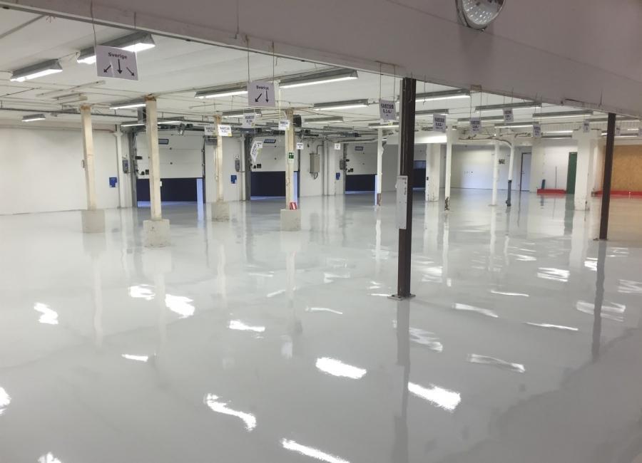 Lagerlokal i Mölndal - PU 750 RAL 7038 - 760m²