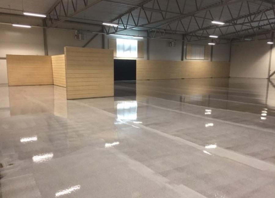 Yamaha Västerås - Dammbindning på betong - WB Klar